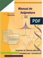 Manual de Asignaturama c Basicas- Probabilidad y Estadistica