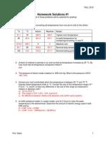 HW1 Solutions ME321