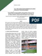 İ.Ü. Cerrahpaşa Tıp Fakültesi Eğitim Hastanesi A3 Bloğu Ön İncelemesi