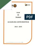 LISTAS 65 MOVIMIENTO INTEGRACION DEMOCRATICA DEL CARCHI PLAN DE TRABAJO ALCALDÍA ELECCIONES 2014