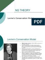 Levine's Conservational Model Presenting