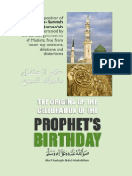 Origins of the Prophets Birthday Online