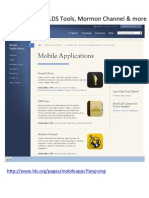 LDS Mobile Apps Training