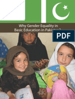 Why Gender Equality in Basic Education in Pakistan