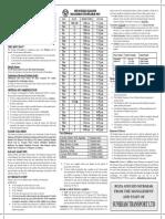 Ramadhan Timetable 2013 (1433H)