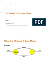 14 Processes System View