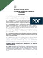 RESOLUCIÓN CORDICOM – 2014 – 001 (1)