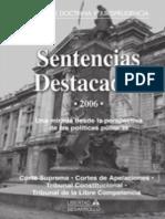 Libro Sentencias Destacadas 2006