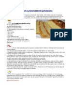 Aromatični kruh s prosom i žitnim pahuljicama
