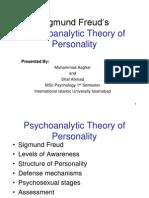 Freud Personality Theory Presentation