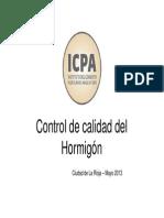 Control de Calidad Del Hormigon