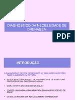 Aula  DIAGNÓSTICO DE DRENAGEM