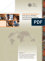 WIPO INTELLECTUAL PROPERTYAND TRADITIONAL CULTURALEXPRESSIONS/FOLKLORE