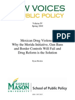 Mexican Drug Violence: