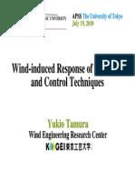 Prof.tamura July19 APSS2010 Wind-universitatea Tokyo
