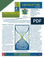 Island Pathways Newsletter - 2013 Fall