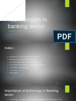 Technologies in Banking Sector