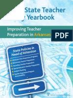 2012 State Teacher Policy Yearbook Arkansas NCTQ Report