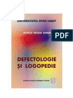 defectologie si logopedie