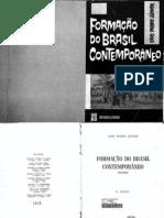 Caio Prado - Formação do Brasil Contemporâneo