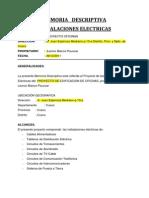 MEMORIA  ELECTRICAS.doc