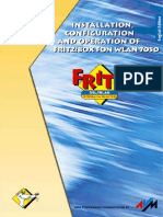 Manual Fritz!Box Fon Wlan 7050