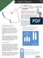 Fact Sheet - Youth in Tanzania