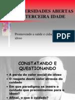 UNIVERSIDADES ABERTAS À TERCEIRA IDADE
