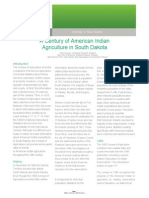 Century of American Indian Agriculture in South Dakota