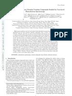 Electronic Structure of Heavy Fermion Uranium Compounds Studied by Core-Level Photoelectron Spectroscopy