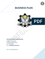 CristalMiningCorp BusinessPlan
