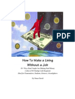 45 Ways to Make a Living-Without a Job