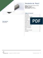 Informe de Simulacion Con Solid Work