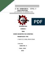 Informe Final Caminos