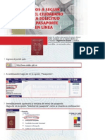 Solicitud pasaporte
