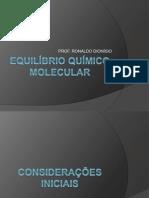 EQUILÍBRIO QUÍMICO_IFAL_2013