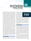 Principles of Drug Therapy in Patients With Reduced Kidney Function