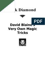 David Blaine Card Tricks