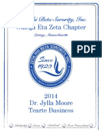 2014 Jylla Moore Tearte Business Scholarship Application