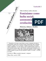 MSL - Feminismo como lucha social, autonomía y revolucion