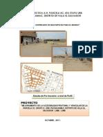 Proyecto en Pachacamac