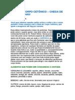 Dieta Do Corpo Cetonico Chega de Gordurinhas Raquel Fortuna Dieta
