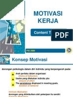8. Motivasi Kerja (Content)