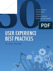 50 UX Best Practices