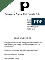 Petrolera Zueta, Petrozuata C