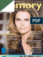 Alzheimer's Magazine - Preserving Your Memory - Summer 09