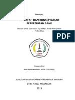 1.Tugas Makalah 1 - Falsafah Dan Konsep Dasar Perkreditan Bank