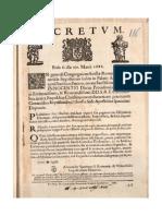 Prohibicion Respuesta a Unos Errores 1686
