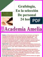 Grafologia en La Seleccion de Personal AA