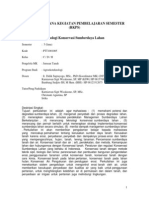 RKPS Teknologi Konservasi SDL Ganjil 2013